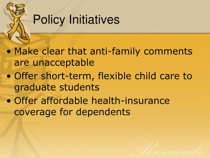 Policy Initiatives