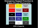 emergency support function 8 public private partnership