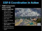 esf 8 coordination in action