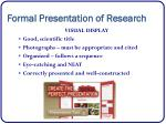 formal presentation of research2