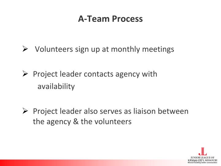 A-Team Process