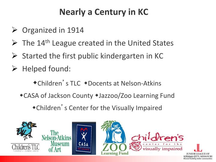 Nearly a Century in KC