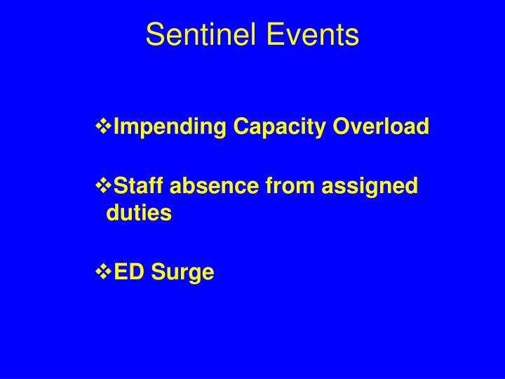 Sentinel Events