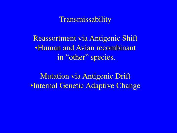 Transmissability