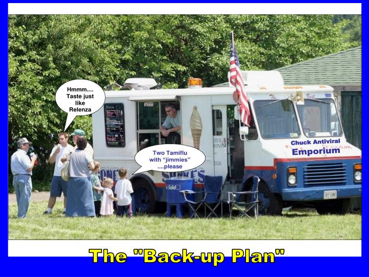 """The """"Back-up Plan"""""""