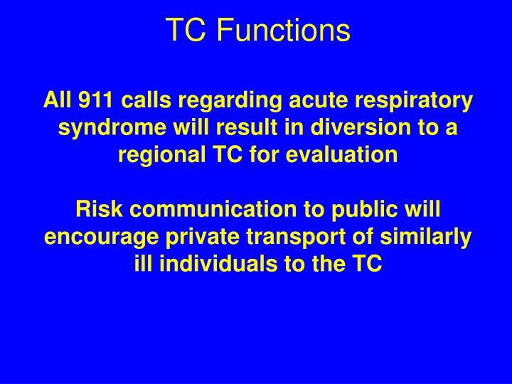 TC Functions