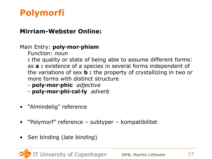 Polymorfi