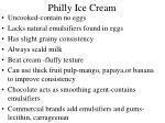 philly ice cream