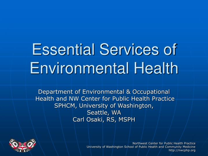 unit 38 environmental health Environmental health & safety tuberculosis control plan the department of environmental health and safety will ensure that such training is vol 38, no 18.