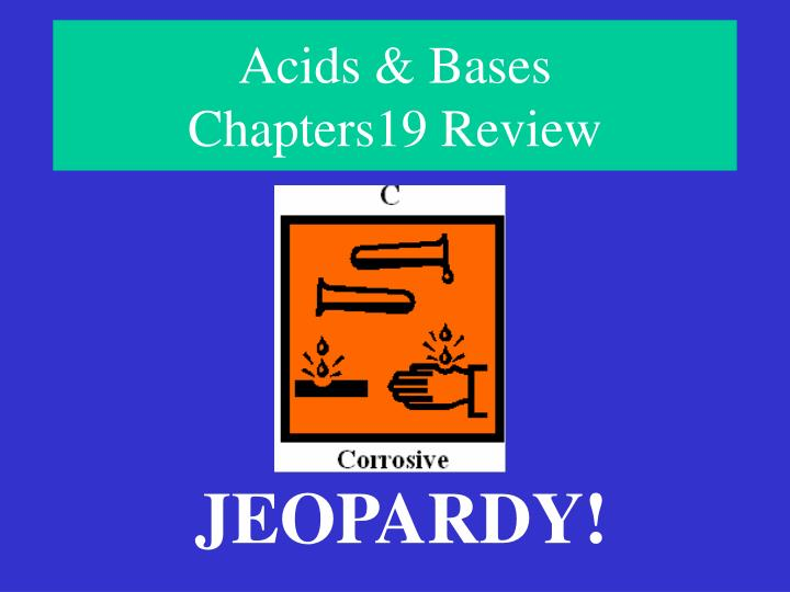 acids bases chapters19 review n.