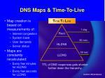 dns maps time to live