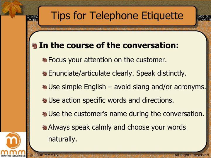 ppt telephone etiquette powerpoint presentation id 4589097. Black Bedroom Furniture Sets. Home Design Ideas