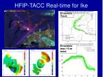 hfip tacc real time for ike
