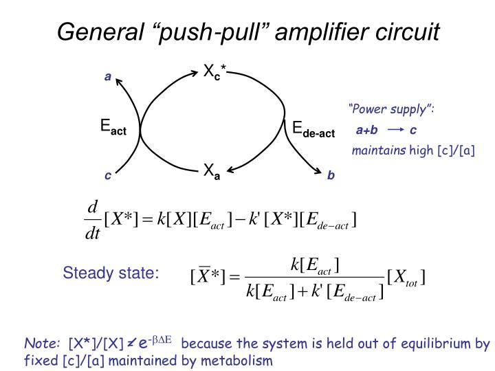 "General ""push-pull"" amplifier circuit"