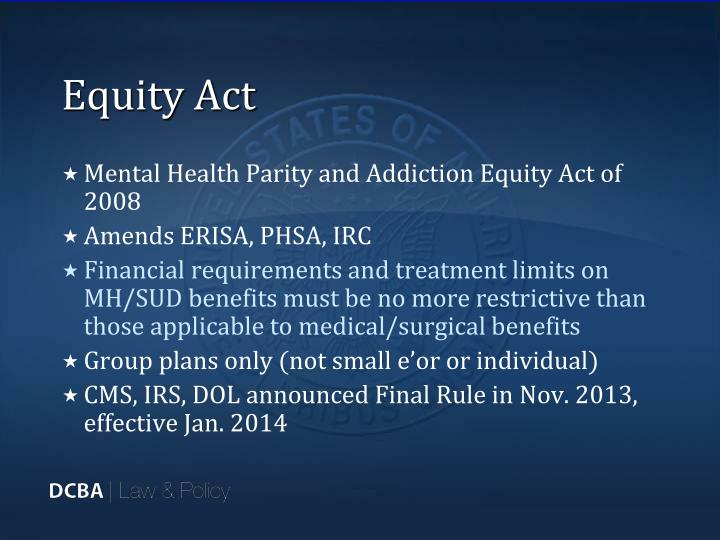 Equity Act