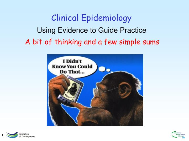 clinical epidemiology n.