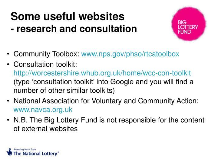 Some useful websites