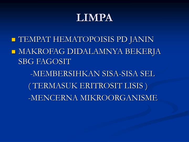 LIMPA