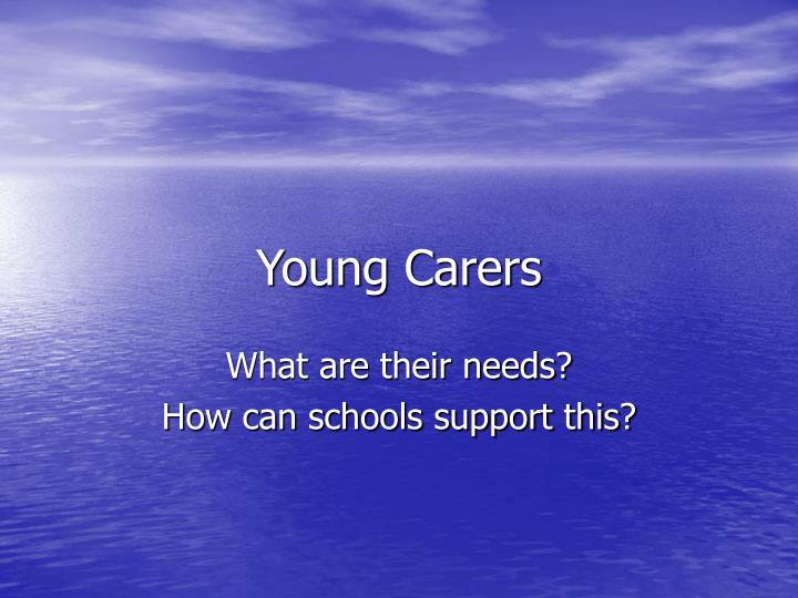 young carers n.