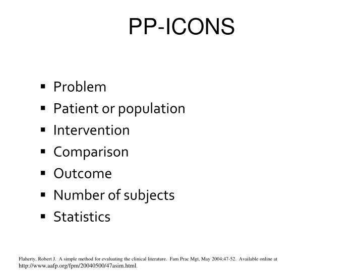 PP-ICONS