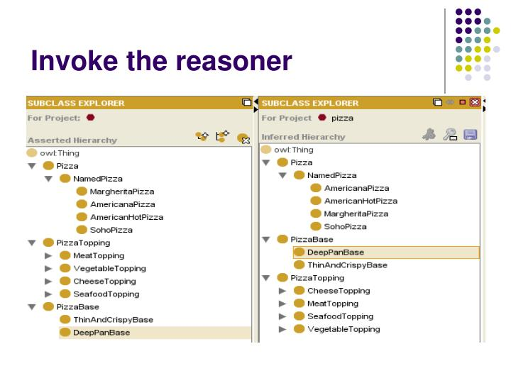 Invoke the reasoner