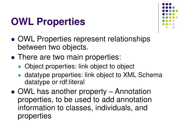 OWL Properties