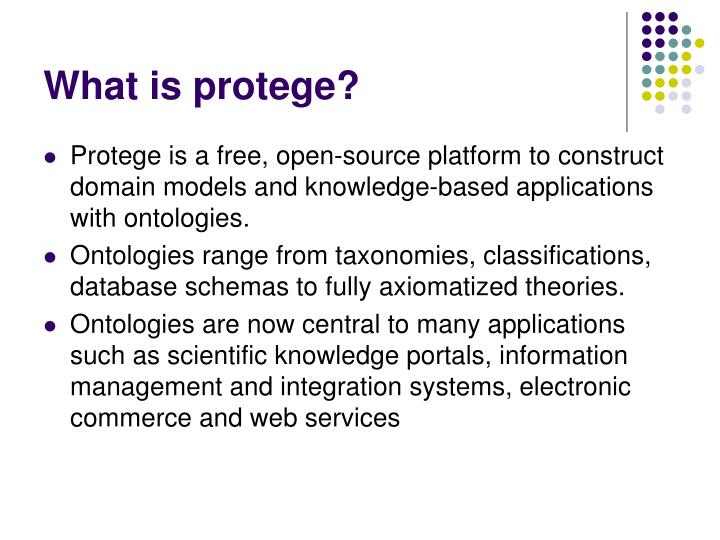 What is protege
