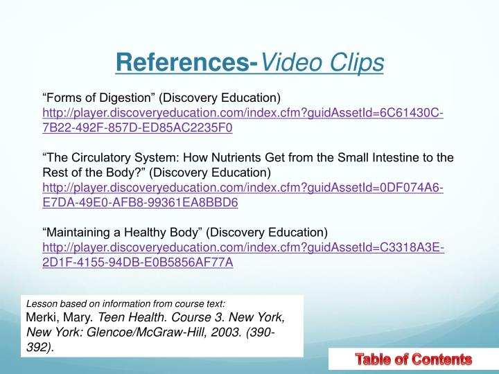 References-