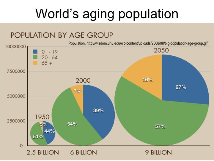 aging population essays Excerpt from research paper : this means that society as a whole needs to consider both aspects of the problem it would be wrong to simply consider problems associated with an aging population in the context of a young population that experiences little to no change.