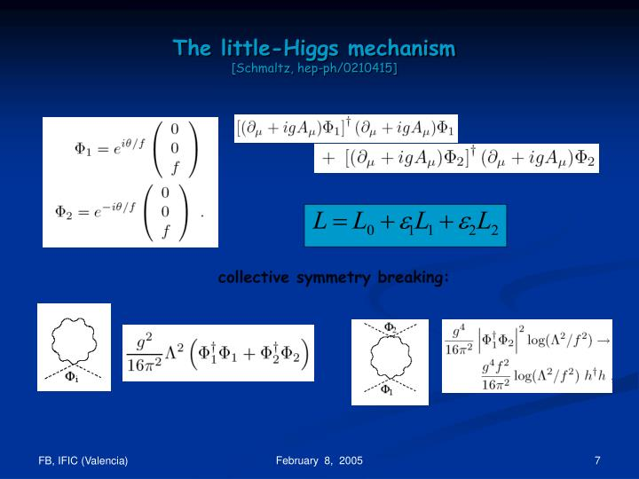 The little-Higgs mechanism
