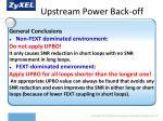 upstream power back off1