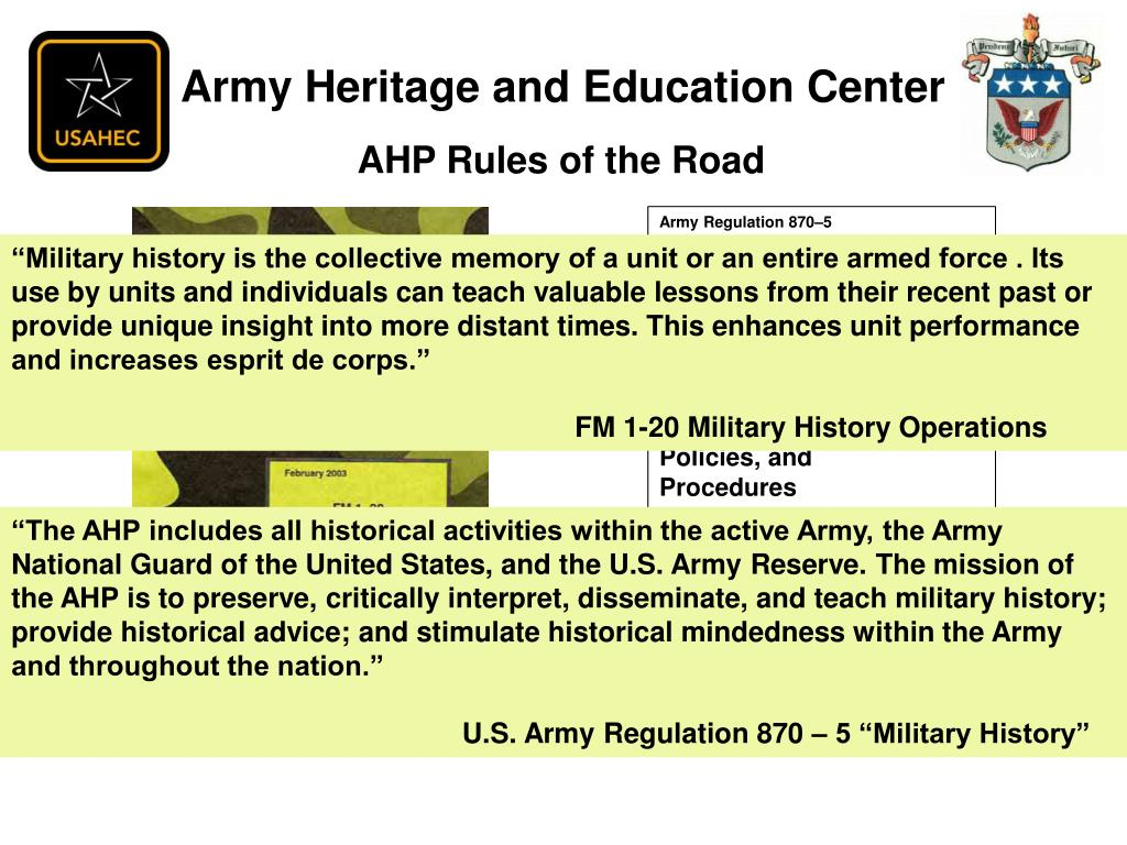 PPT - Oral History in the U S  Army PowerPoint Presentation - ID:4591455