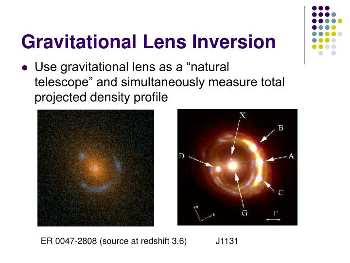 Gravitational lens inversion