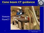 cone beam ct guidance