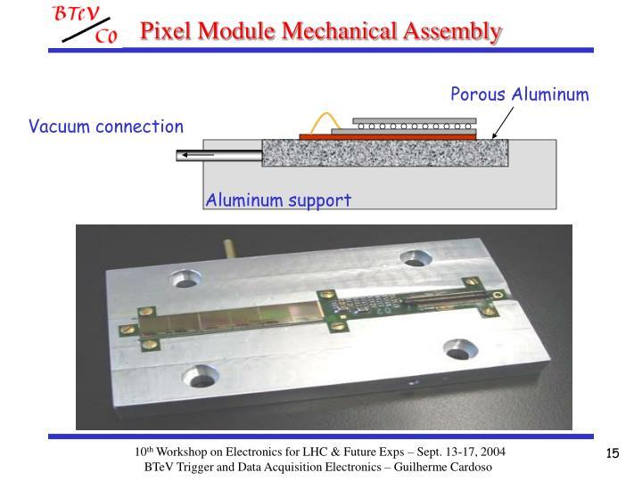 Pixel Module Mechanical Assembly