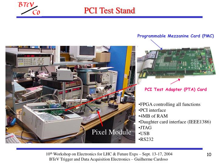 PCI Test Stand