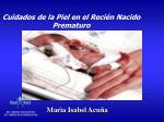cuidados de la piel en el reci n nacido prematuro