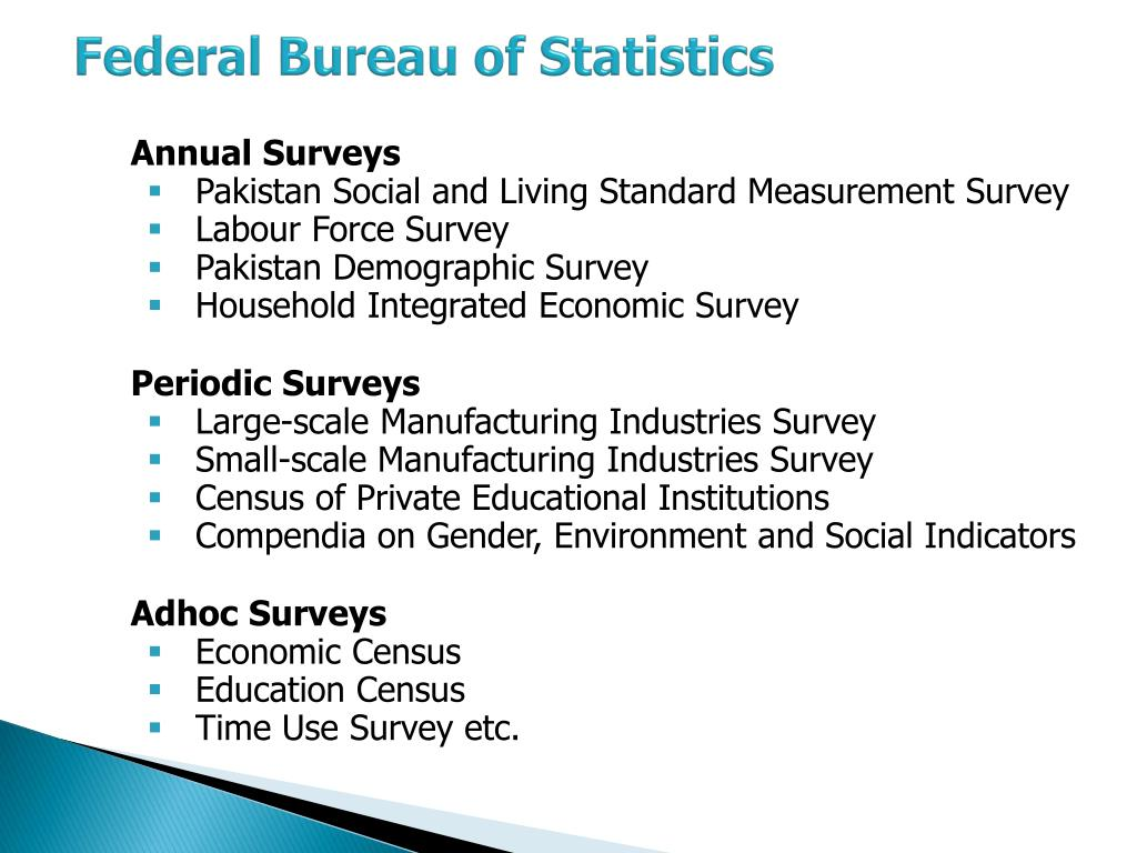 PPT - Statistical System of Pakistan PowerPoint Presentation