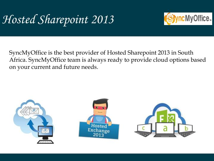 Hosted Sharepoint 2013