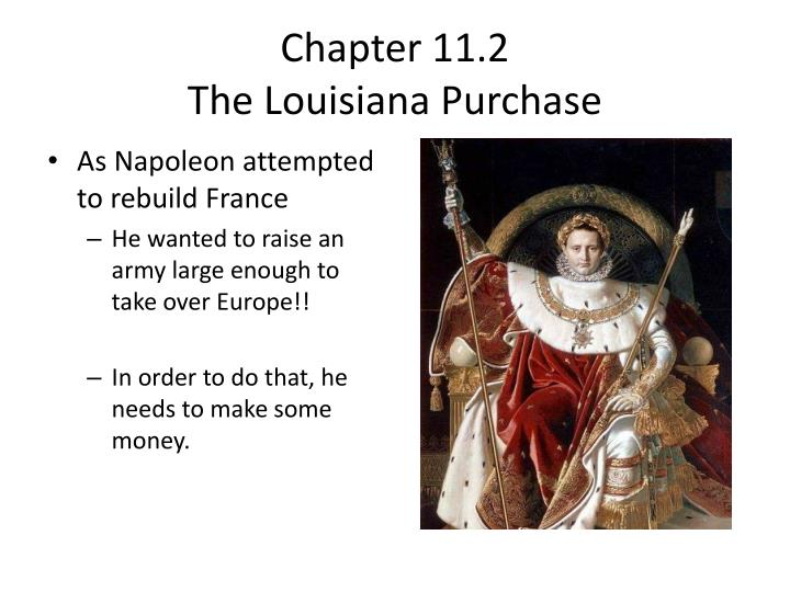 chapter 11 2 the louisiana purchase n.