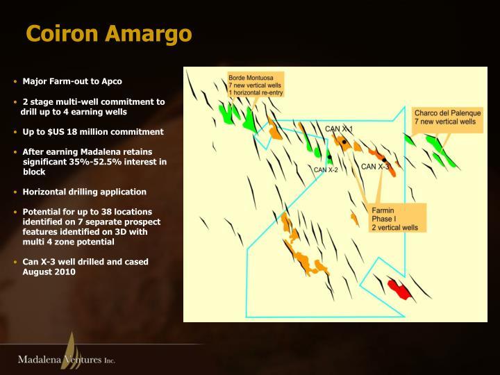 Coiron Amargo