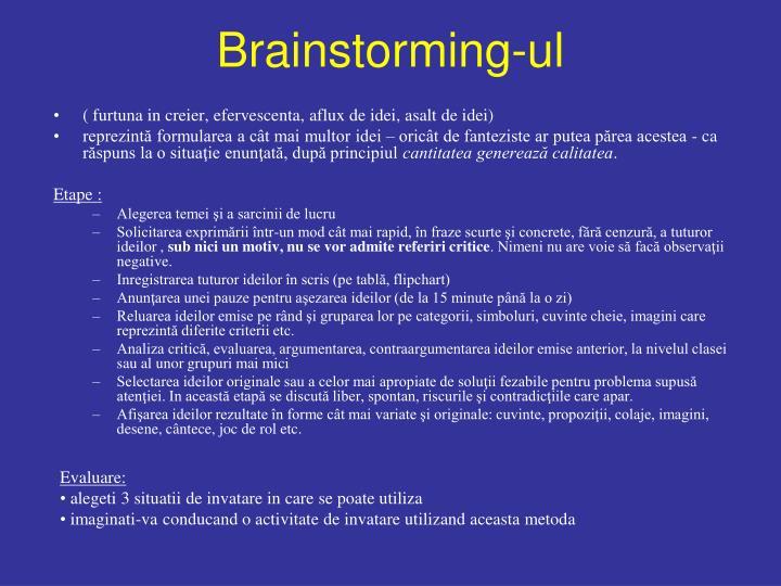 Brainstorming ul