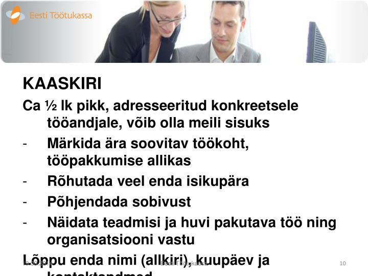 KAASKIRI