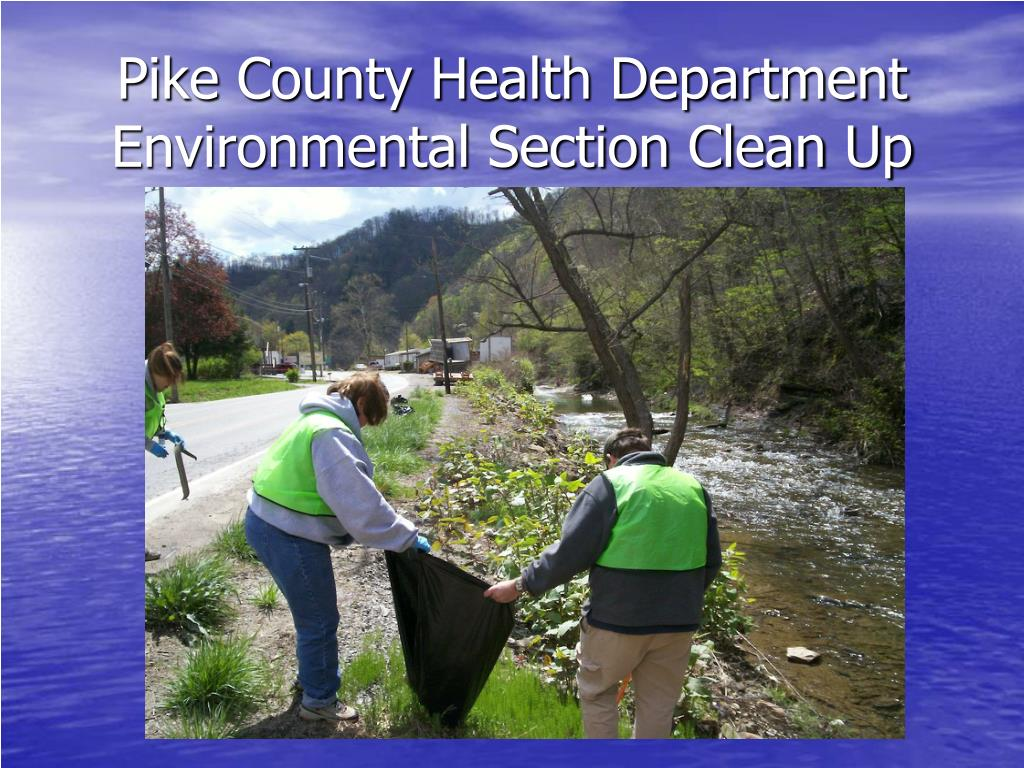 PPT - STOP Littering Pike County PowerPoint Presentation