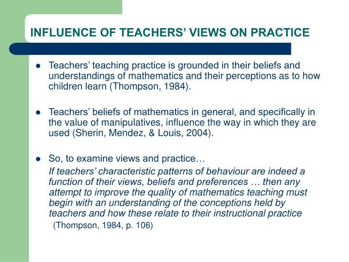 views of teaching