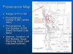 provenance map