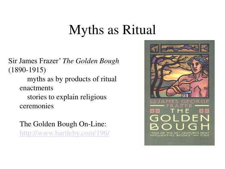 Myths as Ritual