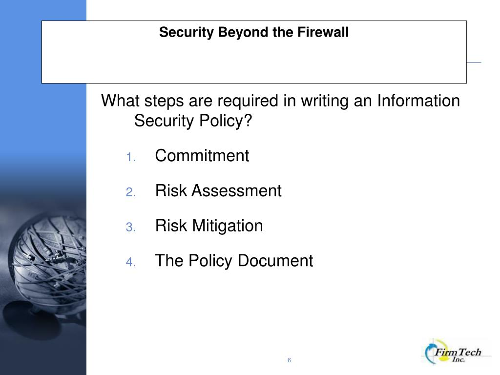 PPT - Security Beyond the Firewall PowerPoint Presentation