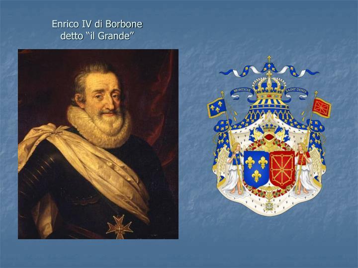 Enrico IV di Borbone