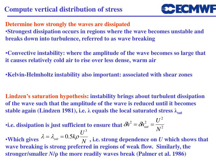 Compute vertical distribution of stress